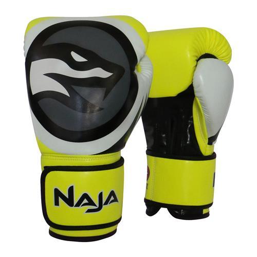 eaf9e73ce Luva De Boxe E Muay Thai Naja Colors Flúor Amarela na Estrela10