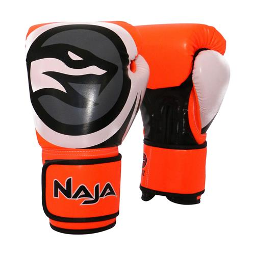 a0d34dc5e Luva De Boxe E Muay Thai Naja Colors Flúor Laranja na Estrela10
