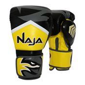 Luva De Boxe E Muay Thai Naja New Extreme Amarela