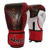 Luvas De Boxe E Muay Thai Naja Animal Print Cobra Vermelha