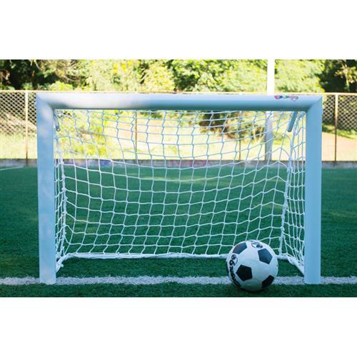 17cc6b64b Mini Trave De Futebol Profissional Fácil Esporte Gool 90 Branca na ...