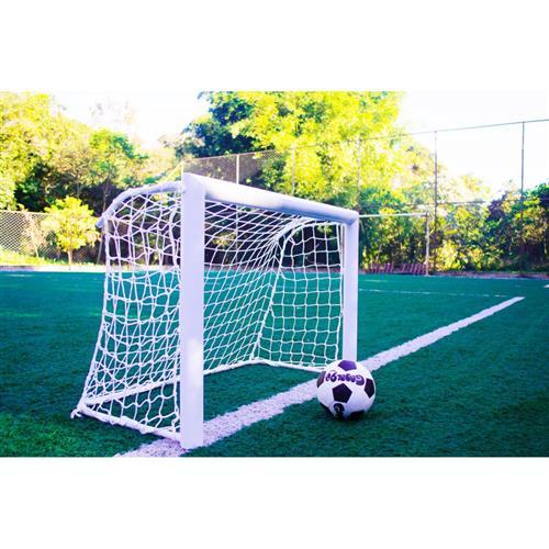bbc568991 Mini Trave De Futebol Profissional Fácil Esporte Gool 90 Branca na Estrela10