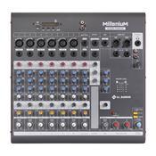 Mesa De Som Millenium Ll Áudio Mx802r 8 Canais Bivolt