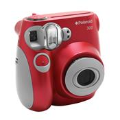 Câmera Digital Instantânea Polaroid Pic 300 Vermelha