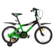 Bicicleta Infantil Kawasaki Mx3 Aro 16 V-Brake Verde