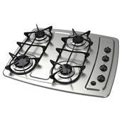 Cooktop A Gás Venax Inox 4 Queimadores Acendimento Automático