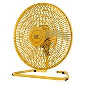 Ventilador De Mesa Oscilante Tron Colours 50Cm 140W Amarelo 127V