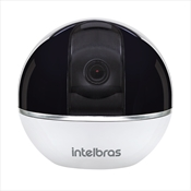 Câmera De Segurança Infravermelho Intelbras 4565266 IC7 Wif-Fi Branca