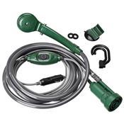Ducha Para Camping Guepardo Shower 12V Verde E Cinza