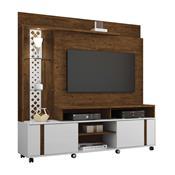 Estante Home Theater Para Tv 55Pol Hb Móveis Vitral Canyon/Branco