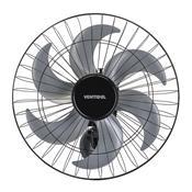 Ventilador De Parede Ventisol Steel 50Cm 6 Pás 200W Preto Bivolt