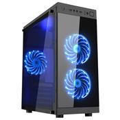 Computador Gamer Ugle Moba Box I3-8100 8Gb Ddr4 Hdd 1Tb Gtx 1050 Preto