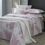 Jogo De Cama Queen Corttex Samia Home Design 4 Pçs 200 Fios Rosa
