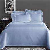 Jogo De Cama King Corttex Home Design Liso 4 Peças 200 Fios Azul