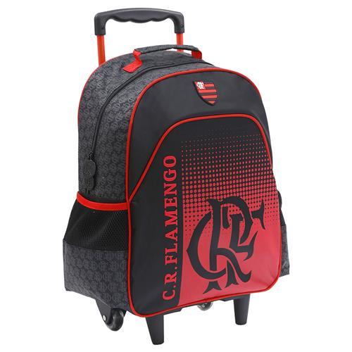 111d10eaf Mochila Escolar Com Rodas Xeryus 8050 Flamengo Preto | Menor preço ...