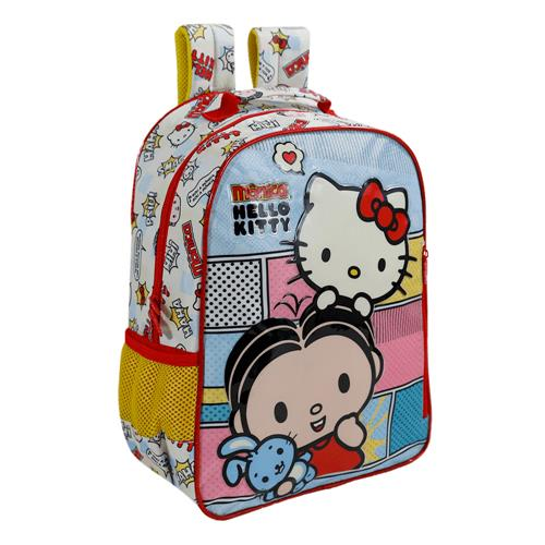 c2e2206bf Mochila Escolar Infantil Xeryus Hello Kitty E Mônica Bff 14 Pol na ...