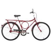 Bicicleta Aro 26 Houston Super Forte Vb Freio V-brake Vermelho Sun