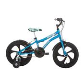 Bicicleta Infantil Aro 16 Houston Nic Com Rodinhas Azul Fosco