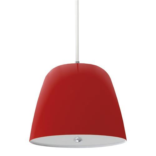 Luminária Pendente Taschibra Td 826 E27 Vermelha Fosca Bivolt na Estrela10