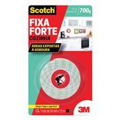 Fita Dupla Face Para Cozinha 3M Scotch Fixa Forte 24mmX1.5M