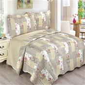 Colcha Queen Camesa Evolution Patchword 260x240cm Emma