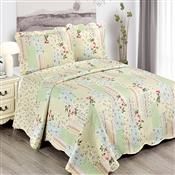 Colcha Queen Camesa Evolution Patchword 260x240cm Mia