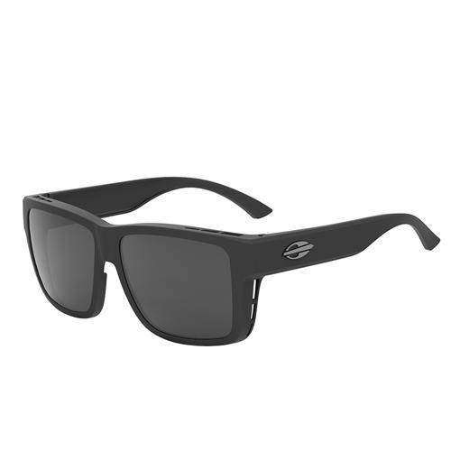 5025ad8ff Óculos De Sol Mormaii Overlap Preto Fosco Lente Cinza Polarizada