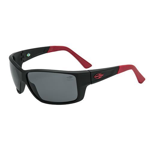 fe46f5fc2 Óculos De Sol Mormaii Joaca III Ntx Preto/Vermelho Lente Cinza na ...