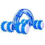 Massageador Manual Roller Acte T151 Formato Anatômico Azul