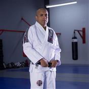 Kimono Para Jiu Jitsu MDV Trançado Pesado Branco A0