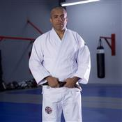 Kimono Para Judô MDV Algodão Branco A2 Com Faixa