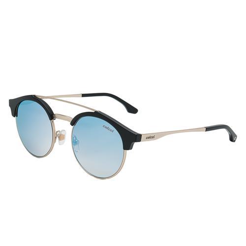 a28a200e9 Óculos De Sol Azul Fosco E Dourado Linda C0095I6640 Colcci na Estrela10