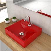 Cuba Apoio Para Banheiro Trevalla Q39w Com Válvula 7/8 Pol Vermelha