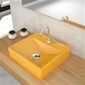 Cuba Apoio Para Banheiro Trevalla Q39w Com Válvula 7/8 Pol Amarela