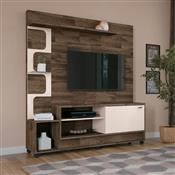 Estante Home Theater HB Móveis Palace TV Até 50 Pol Deck/Off White