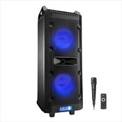 Caixa De Som Multilaser Sp290 Bluetooth Com Led 300W Rms Preta