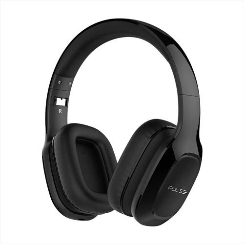 headphone pulsesound ph273 bluetooth 4 2 over ear preto na. Black Bedroom Furniture Sets. Home Design Ideas