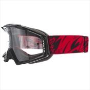 Óculos De Proteção Para Motocross Pro Tork Blast Preto E Vermelho