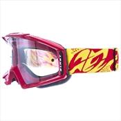 Óculos De Proteção Para Motocross Pro Tork Blast Vermelho