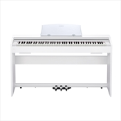Piano Digital Casio PX-770 WE 88 Teclas Com Estante Branco