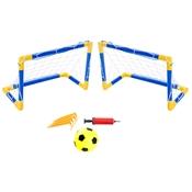 Jogo De Futebol Infantil Bel Sports 488100 2 Traves Azul E Amarelo