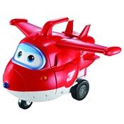 Avião Jett Transformer Fun Gigante Super Wings Vermelho