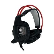 Fone De Ouvido Headset Gamer Evolut EG-303 Preto Com Led