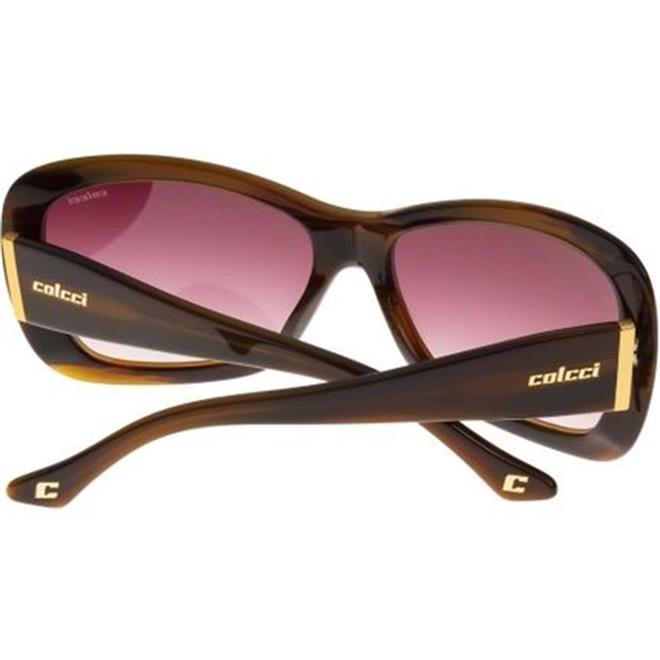 196e3ac44 Óculos de Sol Marrom Marmorizado Feminino 5002 Colcci. Ampliar