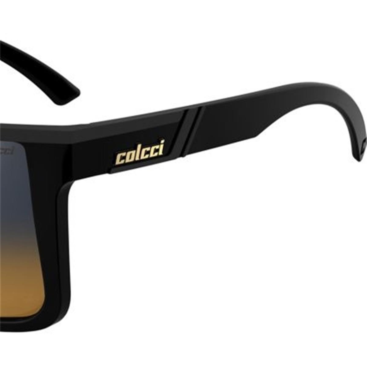 Óculos de Sol Garnet Preto Lente Bicolor 5012 Colcci 53a805024a