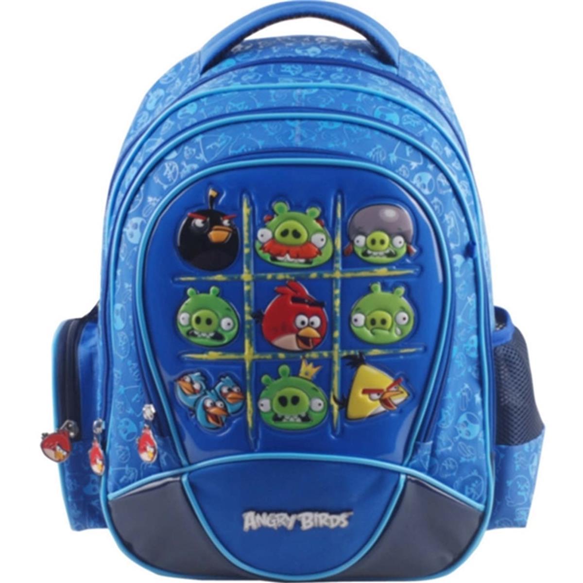 b2f014dba Mochila Costas Angry Birds Escolar Azul ABM13006U22 Santino