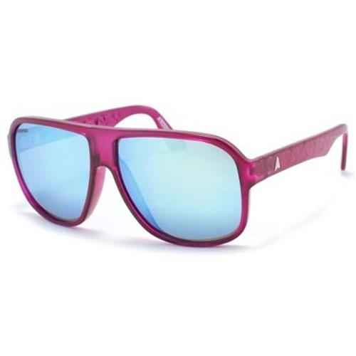 e19c54e692f96 Óculos de Sol Rosa com Lente Azul Espelhado CALIXTO Absurda