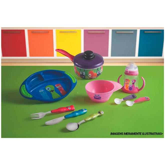 dabfb4ef17 Kit Infantil Aço Inox Com 4 Peças 23799199 Tramontina na Estrela10