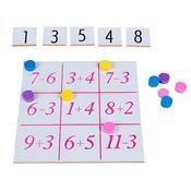 Jogo Matemático Loto Numérica Carlu 1015 Mdf E E.v.a