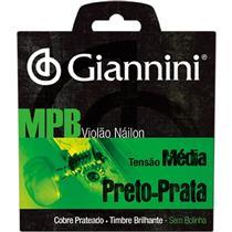 Encordoamento Para Violão Giannini Genwbs Serie Mpb Nylon Médio
